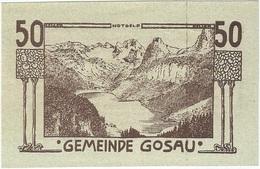 Austria (NOTGELD) 50 Heller Gosau 8-5-1920 Kon 251 B.1.10 UNC Ref 3593-1 - Austria