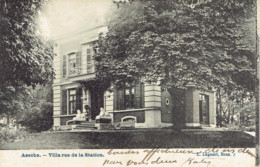Assche Villa Rue De La Station  Villa Vander Borght Lagaert 1912 - Asse