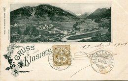 GRUSS Aus KLOSTERS   --  CARTE PRECURSEUR -- (POSTCARD PRECURSOR) - - GR Grisons