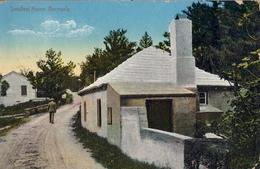 BERMUDA , TARJETA POSTAL CIRCULADA , SMALLEST HOME - BERMUDA - Bermudas