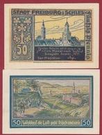Allemagne 1 Notgeld 50 Pfenning Stadt Freiburg (Silésie -Pologne RARE) Dans L 'état   Lot N °4409 - Collections