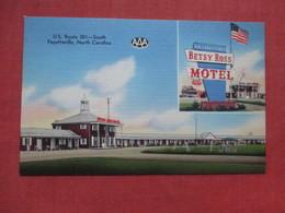 Betsy Ross Motel    Fayetteville    North Carolina    Ref 3530 - Fayetteville