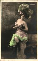 Artiste Femme 1900 - Marcelle Yrven (parisiana Grand Chapeau - Kabarett