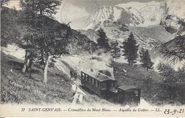 74 SAINT GERVAIS LE FAYET TRAMAY DU MONT BLANC TRAIN A CREMAILLERE DU MONT BLANC VALLEE DE CHAMONIX MONT BLANC EDT LEVY - Saint-Gervais-les-Bains