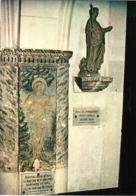 CPM 88 (Vosges) Domrémy-la-Pucelle, Village De Jeanne D'Arc - L'église, Statue De Sainte Marguerite Et Fresque TBE - Eglises Et Cathédrales
