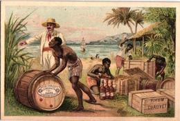 2 Chromo RHUM   Chauvet  De Macouba Antilles Havre - Rhum