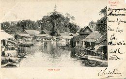 BANGKOK (SIAM)  - WATT SAKET - POSTCARD PRECURSOR - - Thaïlande