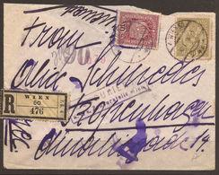 AUSTRIA. 1916, COVER WITH 25h. WIEN TO KOPENHAGEN. CENSOR SEAL ON REVERSE. - 1850-1918 Empire