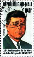 6395b) Mali 1988 - 25. Anniversario Morte Di J.F. Kennedy-MINR. 1110, Timbrato. -USATO - Mali (1959-...)