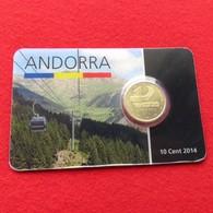 Andorra Blister 10 Cents 2014 Unc - Andorra