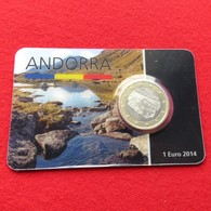 Andorra Blister 1 Euro 2014 Unc - Andorra