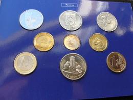 Andorra Set 2002 3x 1 2  2x 5 10 Cents 1  2 Euro Folder - Andorra