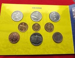 Andorra Set 2004 3x 1 2  2x 5 10 Cents 1  2 Euro Folder - Andorra