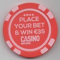 Jeton De Casino Oostende : Promo Jeton (Valeur 1€) - Casino