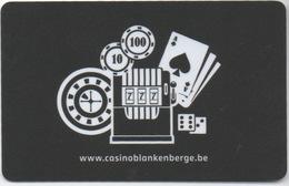 Carte De Membre : Casino Blankenberge Belgique - Casino Cards