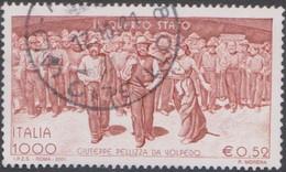 Italy Republic S 2563 2001 Il Quarto Stato Centenary, Used - 2001-10: Afgestempeld