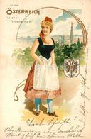 43329759 Wien Wiener Waeschermadl Wappen Kuenstlerkarte Wien - Wien