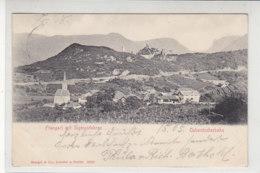 Frangart Mit Sigmundskron - Überetscherbahn - 1905 - Other Cities