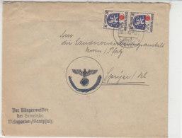 Entnazifizierter Brief Aus ?? über Speyer 26.2.46 - Zone Française