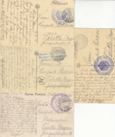 Feldpostbelege Aus Dem GOVERNEMENT LILLE ... Der 6.Armee - Lettres & Documents