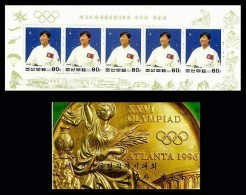 Korea Sc #3611 1997 Summer Olympic Games, Atlanta 1996, Judo Booklet Sports Mnh / ** Unexploded - Judo