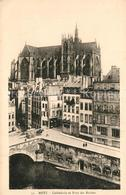 13555979 Metz_Moselle Cathedrale Et Pont Des Roches Metz_Moselle - Metz Campagne