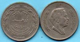 R13/  JORDANIE  100 FILS (DIRHAM)  1978 / 1398  KM#40 - Jordanie