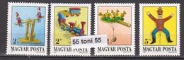 1988  Art TOYS Mi 3978/81  4v.- MNH HUNGARY - Muñecas