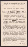 Austruweel, Antwerpen, 1933, Lambert Hendrickx, Geeraerts - Images Religieuses