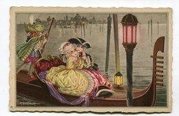 CPA Illustrateur :  BERTIGLIA  A   Couple à Venise VOIR DESCRIPTIF  §§§ - Bertiglia, A.