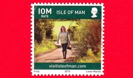 ISOLA DI MAN - Usato - 2010 - Turismo - Vita Sull'isola - Camminare - Walking - Scriita IOM Venduto A 32 P - Isola Di Man