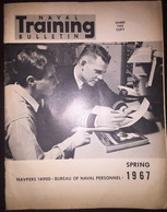 American US Army Naval Training Bulletin Spring 1967 - Naval Institute - Forces Armées Américaines