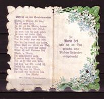 173g * ANDENKEN AN MARIAZELL * KLAPPKARTE MIT WALLFAHRTSGEBETEN VOM 15.8.1927 ** !! - Religion &  Esoterik