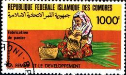 6400b) Comores République La Femme Et Le Développement 1987  -USATO - Isole Comore (1975-...)