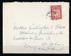 1908, Neufundland, 67, Brief - Kanada