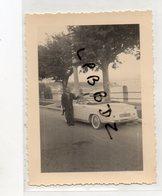 PHOTO ANCIENNE - AUTOMOBILE - VIEUX CABRIOLET SIMCA - Type 90 G - Automobiles