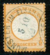"""Nr. 14 """"MUNSTER I ELSASS"""" Zentrischer Blauer K 1 - Germany"""