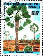 6404b) Mali Francobolli Alberi 1v  -USATO - Mali (1959-...)