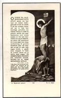 Van Cauwenberghe Griffier Rechtbank 1aanleg Oudenaarde Oud-strijder 40-45 Krijgsgevange Stalag 1A °Kruishoutem 1911+1956 - Todesanzeige