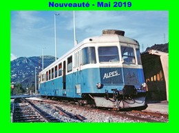 AL 563 - Autorail Renault ABH N° X 322 En Gare - COLOMARS - Alpes Maritimes - France