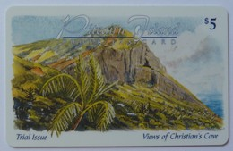 PITCAIRN ISLANDS - £5 - Trial - Views Of Christian's Cove - Mint - Pitcairneilanden