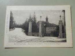 AIN HAUTEVILLE ROUTE DU COL DE LA ROCHETTE ENTREE DU SANATORIUM MANGINI - Hauteville-Lompnes