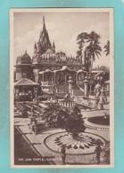 Small Old Postcard Of The Jain Temple,Calcutta,Kolkata, West Bengal, India,S10. - Inde