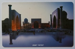 UZBEKISTAN - Urmet - Major Printing Flaw - MU1 - 25 Units - Monuments - Mint - Usbekistan