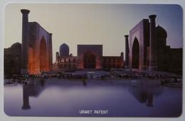 UZBEKISTAN - Urmet - MU1 - 25 Units - Monuments - Mint - Usbekistan