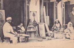 BE17- TANGER AU MAROC PEINTRE ARABE - Tanger