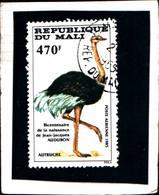 6407b) L MALI-FAUNA PROTETTA-STRUZZO  -USATI - Mali (1959-...)