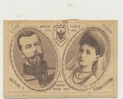 67-1187 Россия Russia Russland Czar Booklet France - Russie