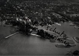 ! RAHNSDORF, Müggelsee , Berlin ,  Seltenes Luftbild  1937, Nr. 30617, PLZ: 12589, Format 18 X 13 Cm - Mueggelsee