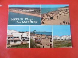 D 85 - Saint Hilaire De Riez - Merlin Plage - Les Marines - Saint Hilaire De Riez